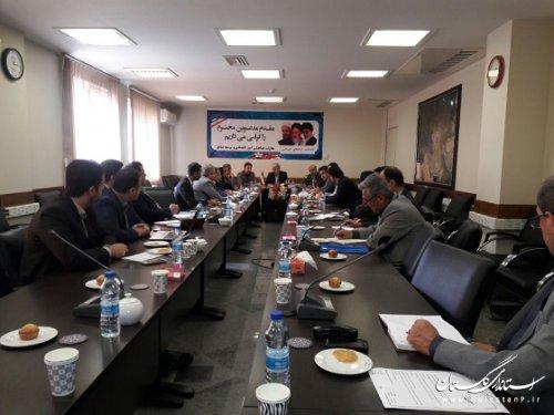 برگزاری جلسه کارگروه آموزش،پژوهش،فناوری ونوآوری استان