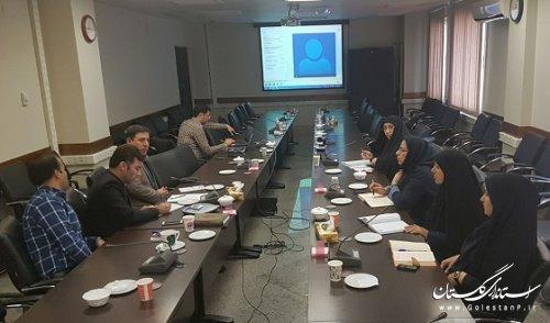 جلسه ویدئوکنفرانس وزارت کشور با موضوع داشبورد مدیریتی