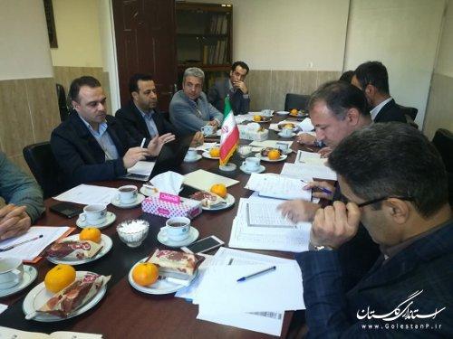 برگزاری جلسه کمیته بررسی واولویت بندی طرح های پژوهشی استان
