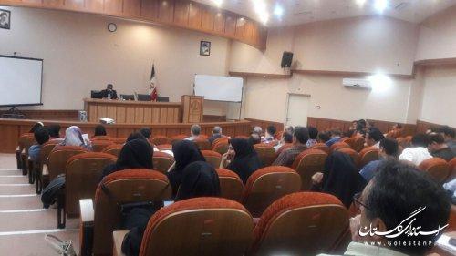 اجرای 1070 ساعت برنامه آموزشی برای کارکنان استانداری و فرمانداریهای تابعه