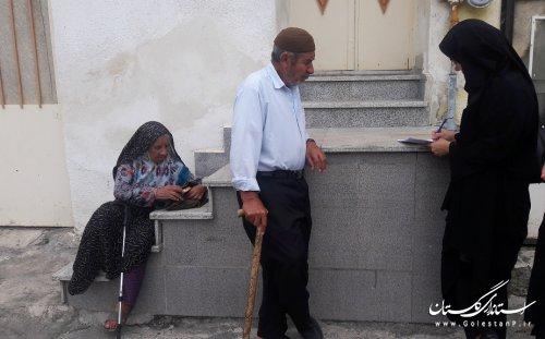 بازدید میدانی وتحقیقاتی کارشناسان اجتماعی ازمناطق حاشیه نشین شهرستان گرگان